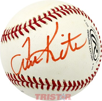 Tom Kite Autographed Rawlings Official League Baseball