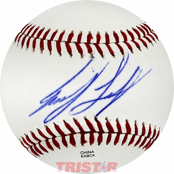 Joey Logano Autographed Official Southern League Baseball