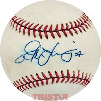Evan Longoria Autographed Official Major League Baseball Inscribed 37