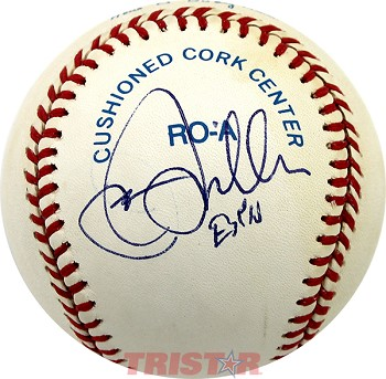 Jon Miller Autographed Official American League Baseball Inscribed ESPN