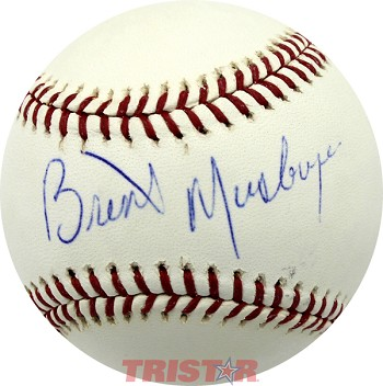 Brent Musburger Autographed Official Major League Baseball