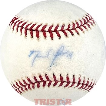 David Price Autographed Official Major League Baseball