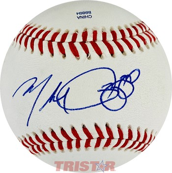 Mike Rizzo Autographed Official Southern League Baseball