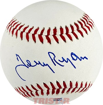 Terry Ryan Autographed Official Southern League Baseball