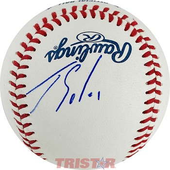 Jorge Soler Autographed Official Southern League Baseball
