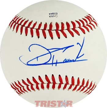 Touki Toussaint Autographed Official Southern League Baseball