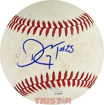 Touki Toussaint Autographed Official Southern League Baseball Inscribed 23