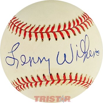Lenny Wilkens Autographed Official Major League Baseball