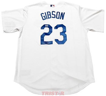 Kirk Gibson Autographed Los Angeles Dodgers Jersey