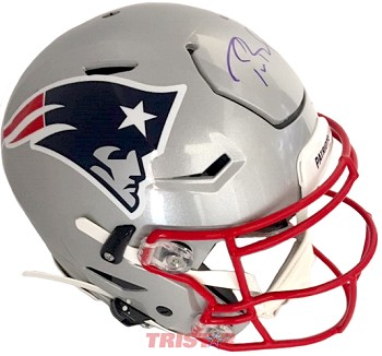 Tom Brady Autographed New England Patriots Speed Flex Helmet
