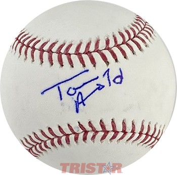 Tom Arnold Autographed Official Major League Baseball