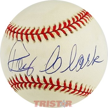 Roy Clark Autographed Official American League Baseball