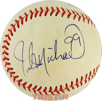 John Michael Montgomery Autographed Official American League Baseball Inscribed 99