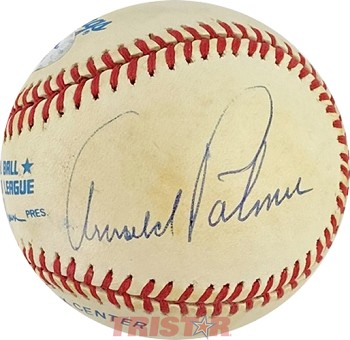 Arnold Palmer Autographed Official American League Baseball