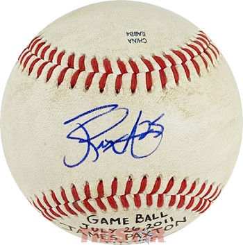 James Paxton Autographed Official Southern League Baseball Inscribed 25