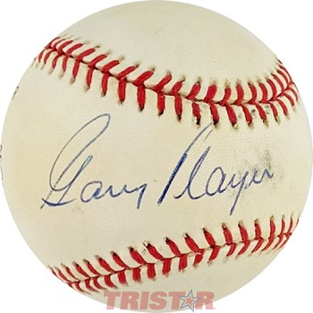 Gary Player Autographed Official National League Baseball