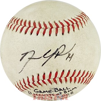 David Price Autographed Official Southern League Baseball Inscribed 14