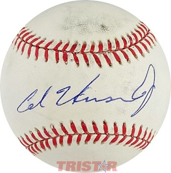 Al Unser Jr. Autographed Official American League Baseball