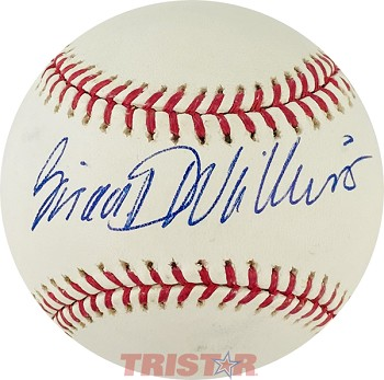 Brian Williams Autographed Official Major League Baseball