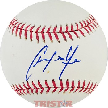 Christian Yelich Autographed Official Major League Baseball