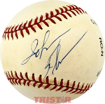 John Thompson Autographed Official National League Baseball