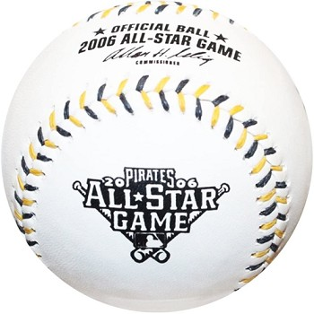 Lance Berkman Autographed Official 2006 All-Star Game Baseball