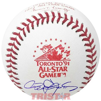 Roger Clemens Autographed 1991 All-Star Game Baseball