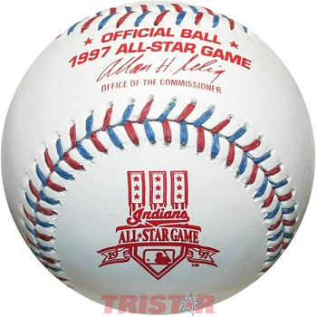 Jeff Bagwell Autographed 1997 All-Star Game Baseball