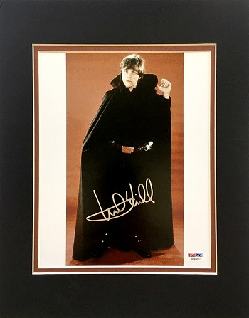 Mark Hamill Autographed 'Star Wars: Return of The Jedi' 8x10 Photo