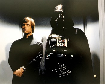 David Prowse Autographed 'Star Wars: Return of The Jedi' 16x20 Photo Inscribed Darth Vader