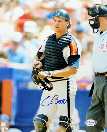 Craig Biggio Autographed Houston Astros 8x10 Photo - Rookie Signature
