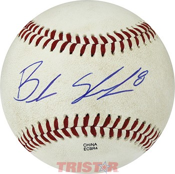 Braden Shewmake Autographed Official MiLB Southern League Baseball