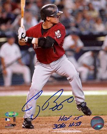 Craig Biggio Autographed Houston Astros 8x10 Photo - 3060 Hits, HOF 15